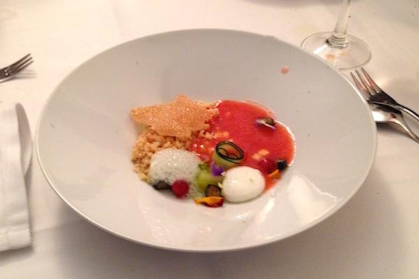 A dessert as served at Somodó.