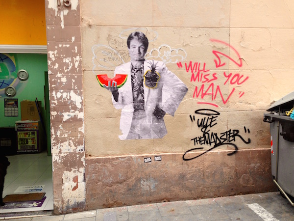 Robin Williams in Gràcia2