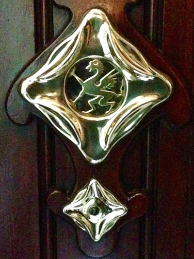 Door detail, Carrer de Provença, Barcelona, Bill Sinclair