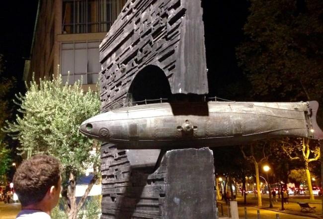 Ictineo by Subirachs, Barcelona