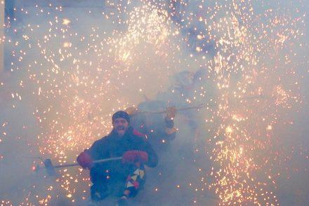 Diablos Plaça Revolució, Gràcia 2017