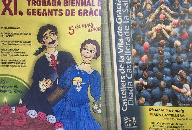 Diadas de Gegants & Castellers maig 5 2018